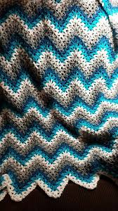 free crochet pattern for baby ripple afghan athomeintn