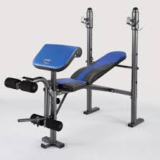 Leg Developer Bench Pure Fitness Multi Purpose Adjustable Mid Width Weight Bench With
