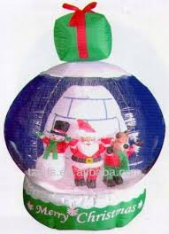 Lowes Inflatable Outdoor Christmas Decorations by Lowes Inflatable Christmas Snow Globe Lowes Inflatable Christmas