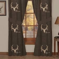 bone collector rod pocket curtains 07170000034bc kimlor mills inc
