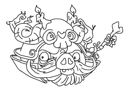 japanese warlord angry bird pigs coloring pages japanese warlord