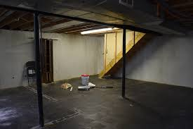 Basement Floor Paint Ideas Unfinished Basement Ideas That Sold Our House The Weathered Fox