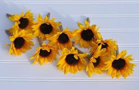 sunflower ribbon wedding flowers fall wedding country wedding sunflower