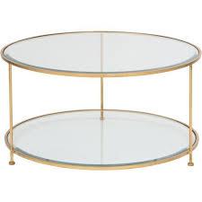 Circle Glass Coffee Table Stylish Glass Coffee Table Metal Base Coffee Table Glass
