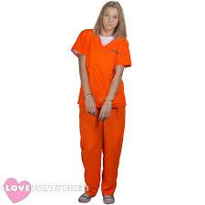 Prisoner Halloween Costumes Convict Fancy Dress Ebay
