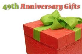 anniversary gifts for 49th wedding anniversary gift ideas for the happy