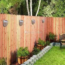 the best solar lights solar garden fence american gardener