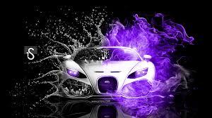 yellow and silver bugatti bugatti fire water abstract mix 2013 el tony