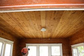 Pine Ceiling Boards by Shiplap Ceilings Add Up Fast U2013 Pure Salvage Living