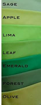 types of green color green inspire