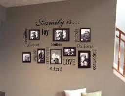 family home wall sticker by oakdene designs notonthehighstreetcom family wall sticker