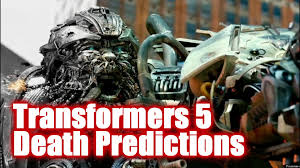 transformers 5 hound transformers 5 character death predictions youtube