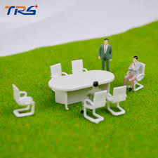 conference table and chairs set aliexpress com buy 5sets 1 50 scale model meeting table and