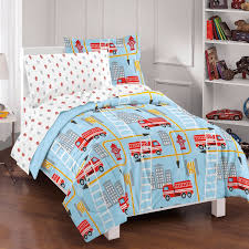 Firefighter Crib Bedding Truck Crib Bedding Set