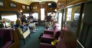 railcar modern american kitchen private train cars a look inside these ritzy digs