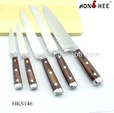 restaurant kitchen knives steak knife premium restaurant quality steak knives set of 6