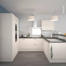 cuisine et blanc photos cuisine équipée ivoire bois moderne filipen ivoire mat kitchens