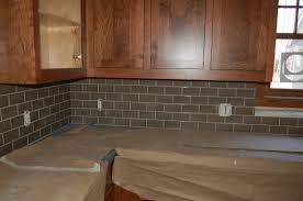 Installing Tile Backsplash Kitchen Kitchen Stunning Grey Backsplash For Elegant Kitchen Idea