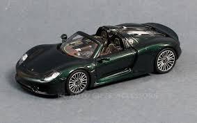 Porsche 918 List Price - spark model s4243 porsche 918 spyder green 1 43 scale
