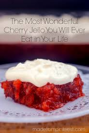 jello salads for thanksgiving the most wonderful cherry jello