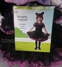 Leopard Halloween Costume Walmart Pulls U0027naughty Leopard U0027 Halloween Costume Parental