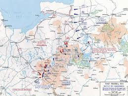 Africa Map 1914 by Map Of The Battle Of Tannenberg Aug 26 1914