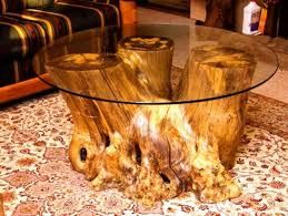 Wood Trunk Coffee Table Reception Table Coffee Table Made From Tree Trunk Wood Table