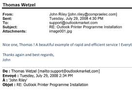 print outlook emails in a customized way