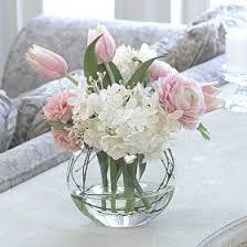 peony arrangement tulip hydrangea and peony arrangement in palest pink buds