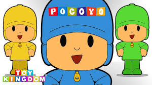 pocoyo coloring book learning colors video children color