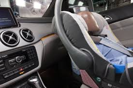 mercedes baby car seat mercedes comprehensive child safety programme for the