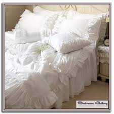 ruffle bedding shabby chic bedroom galerry