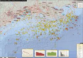 map of the gulf of mexico gulf of mexico infrastructure wall map hart energy store