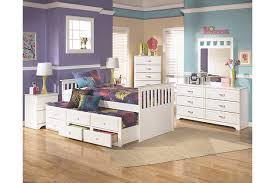 Twin Beds With Drawers Lulu Twin Trundle Bed Ashley Furniture Homestore