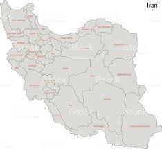 map iran grey iran map stock vector 525914119 istock