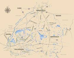 County Map Ga The Red Hills Region The Red Hills Of North Florida U0026 Southwest