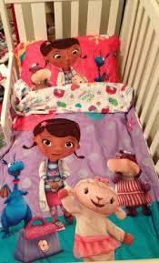 disney doc mcstuffins 4 piece toddler bedding set walmart com