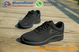 Nike Tanjun Black discount new releases womens nike tanjun 812654 001 all black racing