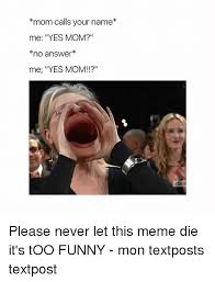 Mom Please Meme - mom calls your name me yes mom no answer me yes mom esag