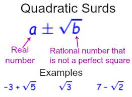 solving equations with quadratic surds study com