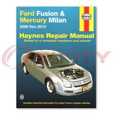 ford fusion haynes repair manual s sport sel hybrid shop service