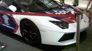 police lamborghini lamborghini aventador and gallardo for indonesian police