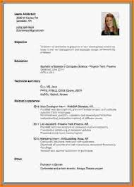 Resume For Someone With No Work Experience Examples Writing A Resume For A With No Experience 28 Images Resume For