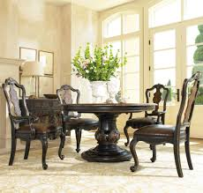 Seldens Furniture Tacoma by Hooker Furniture Grandover Five Piece Round Single Pedestal Dining
