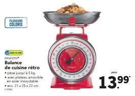 balance de cuisine retro lidl promotion retro balance de cuisine rétro ernesto bascule
