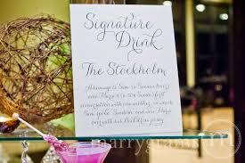 wedding drink menu template wedding reception template downloads