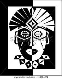 free coloring page coloring african mask coloring picture