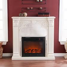 Martin Gas Fireplace by Holly U0026 Martin Andorra Electric Fireplace Ivory Holly U0026 Martin