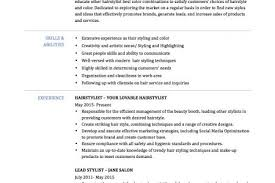 Fashion Stylist Resume Examples by Fashion Stylist Resume Templates Reentrycorps