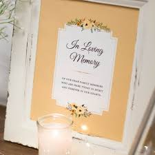 wedding memorial sign classic wedding memorial sign 76thandnewbury